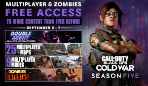 《COD17》将推出周免试玩 《战区》开启新一轮封禁