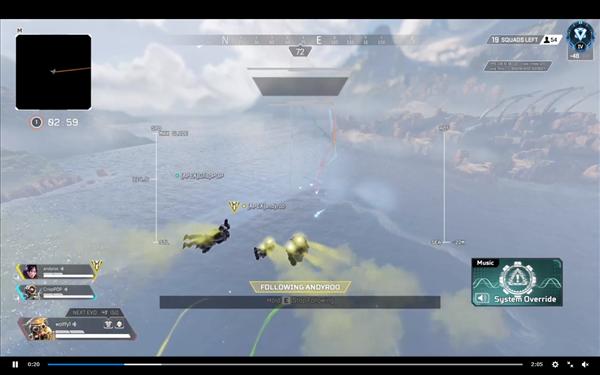 《Apex》新BUG导致地图消失 玩家建议进行健康行动
