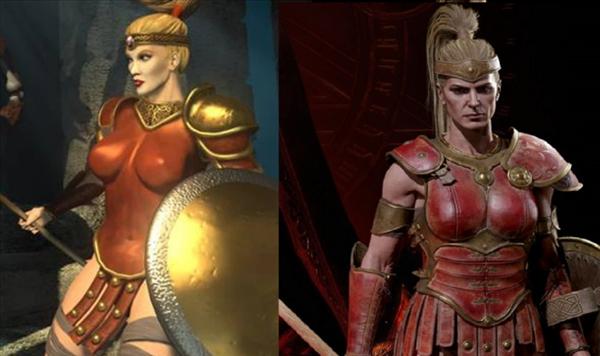 官方确认《暗黑2:RE》亚马逊女战士将修改 更加健壮