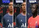 PS版《FIFA 22》對比 PS5建模有改進,總體變化不大