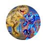 恐龙暴打机器人