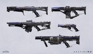 《命運2》設計師分享武器概念圖 介紹設計理念和細節