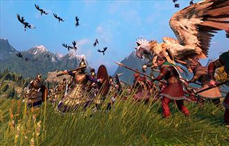 《全戰傳奇:特洛伊》DLC預告 追加神話生物獅鷲元老